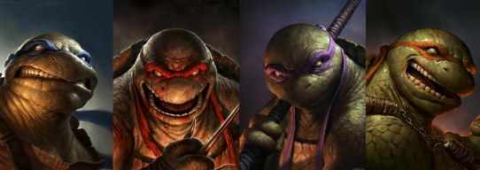 Ninja Turtles by Dave Rapoza