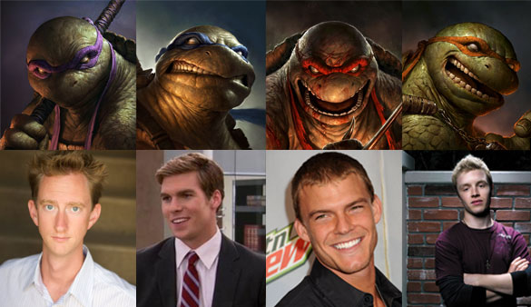 Ninja Turtles Cast