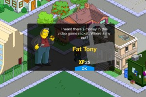 The Simpsons: Tapped Out - Fat Tony