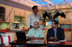 Dan-Le-Batard-and-Papi-on-HQDL-set