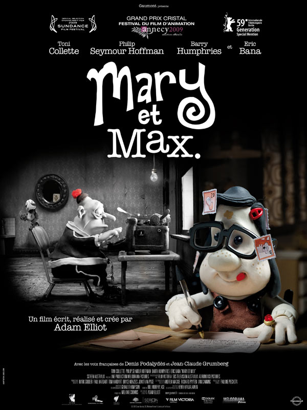 Mary Max My Three Act Structure Called Life