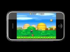 iPhoneplayingSuperMario