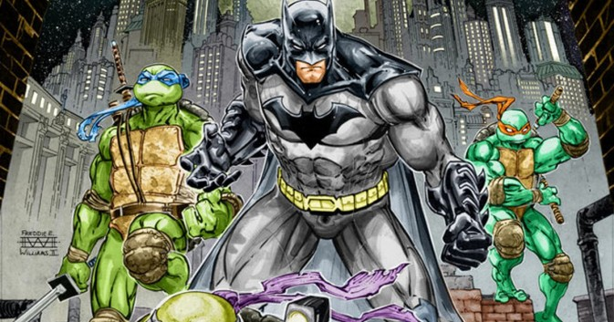 6-part TMTN/Batman crossover series coming November 2015